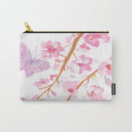 butterflies watecolor Carry-All Pouch