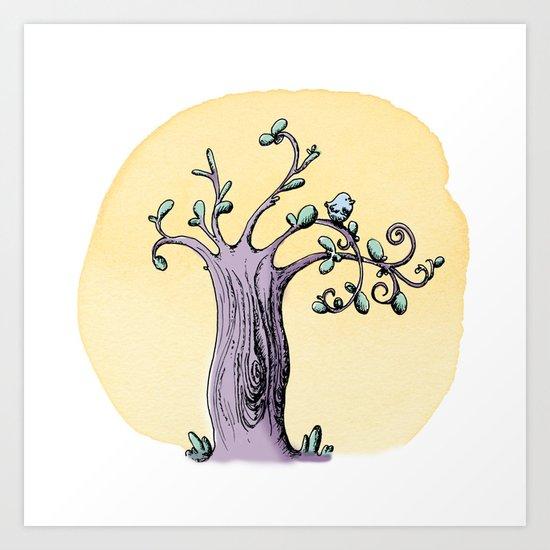 Petit oiseau Art Print
