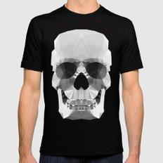 Polygon Heroes - Crystal Skull Mens Fitted Tee LARGE Black