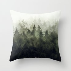 The Heart Of My Heart // Green Mountain Edit Throw Pillow
