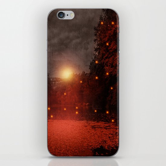 when the light speaks - HOLIDAZE iPhone & iPod Skin