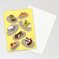 desserts Stationery Cards