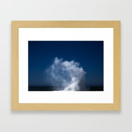 Abstract Waves no. 4 Framed Art Print