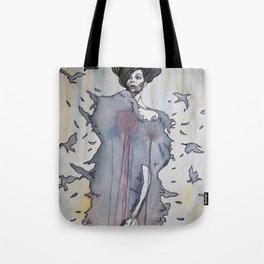 She Looks Trustworthy Tote Bag