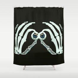 Googly Halloween Shower Curtain