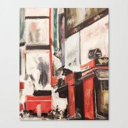 City Painting - New York Canvas Print