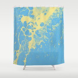 Tint - Abstract Marble Texture Series: 02 Shower Curtain