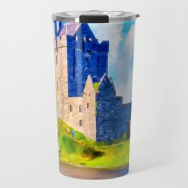 Dunguaire Castle On Galway Bay In Ireland Travel Mug
