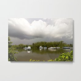 On a stormy day Metal Print