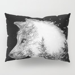 Winter Wolf Pillow Sham