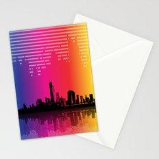 Urban Rhythm Stationery Cards