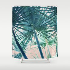 Tropical Palm #society6 #buyart #home #lifestyle Shower Curtain