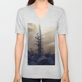 Dead Tree At Needles Highway Unisex V-Neck