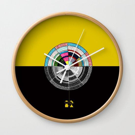 Contrast  Wall Clock