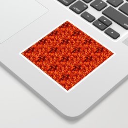 Fire for decorative products Sticker
