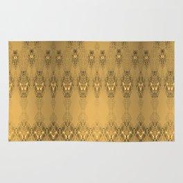 Golden Pattern Golden Luxury Week Tuesday Rug