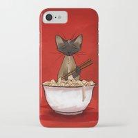 ramen iPhone & iPod Cases featuring Ramen by Naomi VanDoren