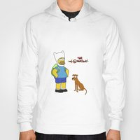 simpsons Hoodies featuring The simpsons Time by Lexatchison