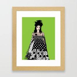 Lydia Deetz in Marc Jacobs Framed Art Print