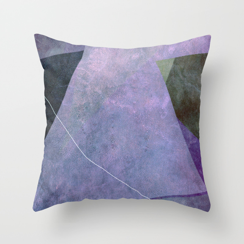 Flower Cups Ii Throw Pillow by Artdekay880 PLW9050211