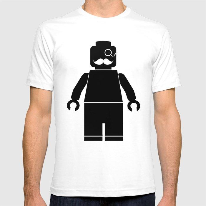 > lego minifigure T-shirt