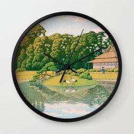 okayama kourakuen - Top Quality Image Edition Wall Clock