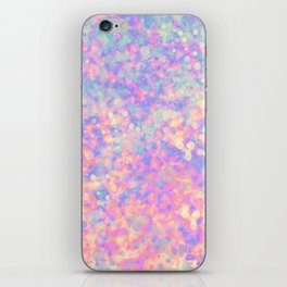Magic pink iPhone Skin