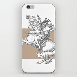 Riders of an art iPhone Skin