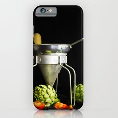 Light Painted Still Life of Tomatoes and Canning Objects iPhone 6s Slim Case