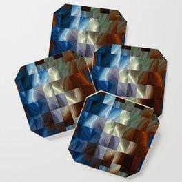Metal Squares Coaster