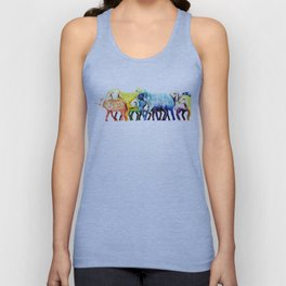 Counting Sheep Unisex Tank Top