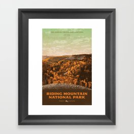 Riding Mountain National Park Framed Art Print