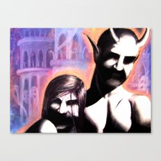 Keepers of the Underworld Canvas Print