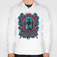 medieval Hoodies featuring Medieval knight by Tshirt-Factory