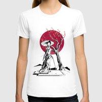 geisha T-shirts featuring Geisha by Rafapasta