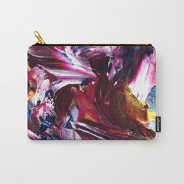Dark Abstract Paints Carry-All Pouch