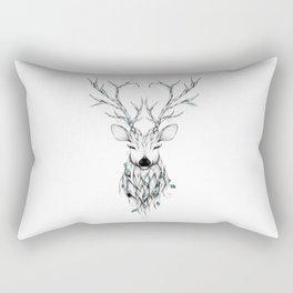 Poetic Deer Rectangular Pillow