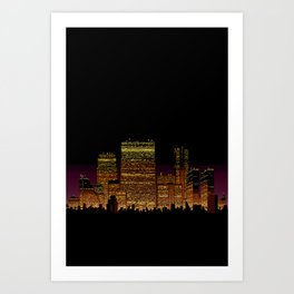 Cityscape VI Art Print