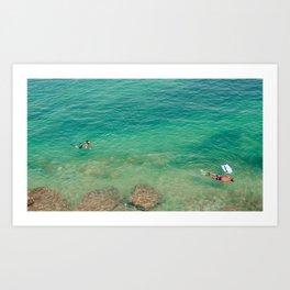 les plongeurs Art Print