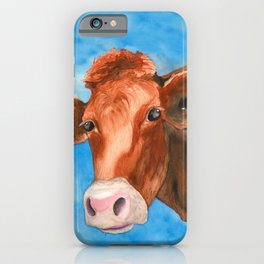 Red Heifer iPhone Case