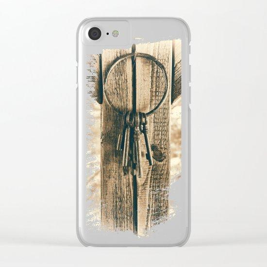 Keys Clear iPhone Case