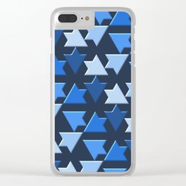 Geometrix 156 Clear iPhone Case