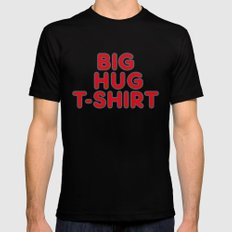 Big Hug MEDIUM Black Mens Fitted Tee