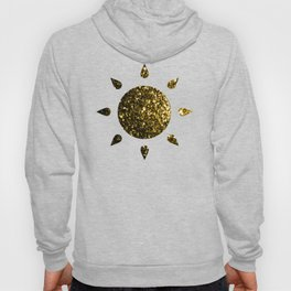 Beautiful Yellow Gold sparkles Hoody