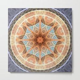 Mandalas of Forgiveness & Release 24 Metal Print