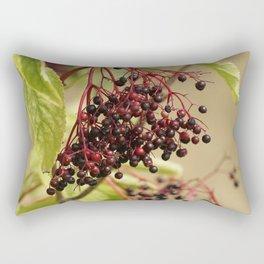 Elderberries Rectangular Pillow