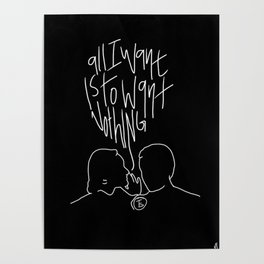 The Front Bottoms Lyric Art Poster