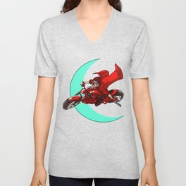 Robin and the Big Bad Wolf Unisex V-Neck