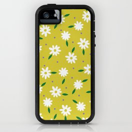 spring, yellow iPhone Case