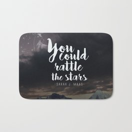 You could rattle the stars (stag included) Bath Mat